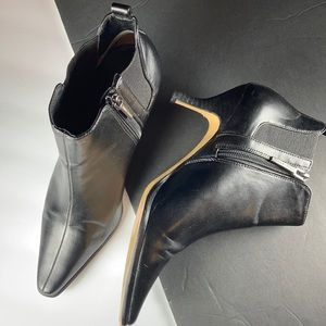 Donald Pliner Black Ankle Boot